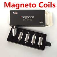 Wholesale Pure Dab - Yocan Magneto Coil Ceramic Replacement Wax Head with Magnetic Cap Dab Tool Pure Flavour Fit Magnetic Wap Kit 100% Original