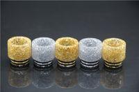 ingrosso boccette d'incandescenza-2017 TFV12 Drip Tip resina epossidica punte a goccia larga Drip Vape Shining Glowing 510 Bocchini per TFV8 GOON 528 RDA