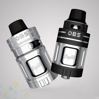 Wholesale Electronic Engine - Authentic OBS Engine Nano RTA Atomizer 5.3ml Capacity Patent Top Side Filling Design Electronic Cigarette DHL Free