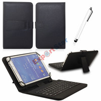 Wholesale Ipad Case Apple 7inch - New Arrival Exportstar 7 inch Leather Keyboard Stand Case For 7inch 8 inch 7.7 inch Q88 Tablet PC