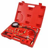 Wholesale Auto Fuel Injection - TU-114 Set Fuel Pressure Gauge Auto Diagnostics Tools For Fuel Injection Pump Tester