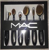 Wholesale Shop Kits - Professional Brand Makeup Brushes Set Powders Blush Brush Kit DHL free shopping