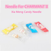 Wholesale Candy Tattoos - New Xia Meng III Candy Needle for CHARMANT II Tattoo Microneedle for Skin Care Anti-aging Tattoo Needle