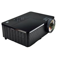 Wholesale daylight projector hdmi resale online - Best Short throw lens Daylight USB HDMI Home Theater XGA p full HD D DLP Projector Proyector beamer for church hall hotel