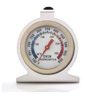 Wholesale quality bbq - Oven Cooker Thermometer Stainless Steel Pointer Type Top Quality Barbecue BBQ Grill Digital Temperature Kitchen Tool Hot Sale 5yd F