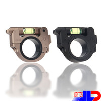 Aluminum alloy black level - new Aluminum alloy level degree flip Scope Mount RINGS high quality for MM MM Tube Diameter Black TAN