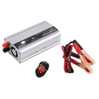 Wholesale 12v Inverter Transformer - Wholesale- 1000W WATT DC 12V to AC 220V Portable USB Car Power Inverter Adapter Charger Voltage Converter Transformer Universal