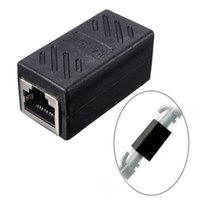 Atacado RJ45 Female to Female Network Ethernet LAN Connector Adapter Coupler Extender, RJ45 Acoplador, tomada de fábrica