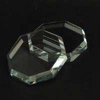 einzelne kristalle großhandel-Hot Eyelash Extension Tool Kit Individuelle Wimpern Kleberhalter Wimpernkleber Octagona Crystal Stone Wimpernkleber Ständer
