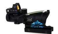 волоконно-оптическая красная точка оптовых-Trijicon TA31 ACOG стиль 4x32 тактический прицел реальный волоконно-оптический зеленый с подсветкой ж / RMR микро красная точка для охоты прицелы