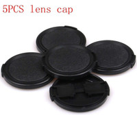 Wholesale Fuji Filter - Wholesale-Free shipping 5 pcs 58mm Side-Pinch Lens Cap protection cover for Lens Filters DC & adapters Fuji x10 x20 x100 x100s Lens hood