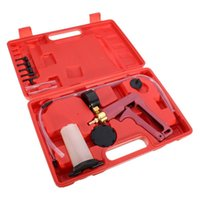 Wholesale Hand Tools For Cars - 1 Set Hand Held Brake Bleeding Vacuum Pump Bleeder Tester Garage Tool For Car Van Bike
