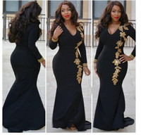 Wholesale Long Diamond Fishtail Dresses - New Women's Fashion Dresses 2017 Autumn Long Sleeve HotSell V-Neck Flowers Diamond Street Style Slim Lady Long Casual Bodycon Fishtail Dress