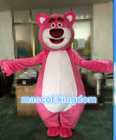 Wholesale Lotso Halloween Costume - Toy Story Lots-O'-Huggin' Bear Lotso Mascot Costume Halloween Carnival Outfit