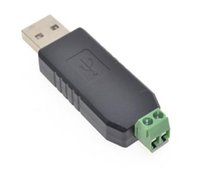 linux os usb venda por atacado-USB Hot para RS485 485 conversor adaptador suporte Win7 XP Vista Linux Mac OS WinCE5.0