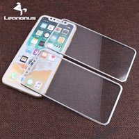 Wholesale Titanium Iphone Back - Kit Premium Front+Back Titanium Alloy Metal Tempered Glass For Apple iPhone X Screen Protector Full Cover Screen Film For iPhoneX