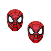 Resin spider man craft - DIY Decoden Super Man Batman Hero Resin Planar Red Spider Cabochons Resin Craft Jewelry Embellishment For Kids Party GIFT Deocrative