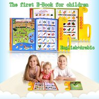 Wholesale Learn Arabic For Kids - Hot The first E-book for children,english+arabic bilingual reading machine,educational learning toys muslim quran for all kids