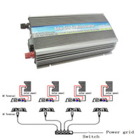 Wholesale Solar Grid Tied Inverter - 1000W Watt Solar Micro Grid Tie Power Inverter for Solar Panel 10.5-30V AC