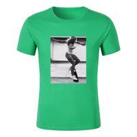 Wholesale T Shirt Kid Design - t shirt mens fashion kanye regular round design full kids short sleeve t-shirts xs On Sale