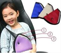 Wholesale Kids Car Harness - Car seat belt Portable Children Safety Strap Car Cover Shoulder Harness Strap Adjuster Kids Seat Belt Clip Car Safet