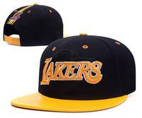 Wholesale Mens Snapback Hats Mix Order - Hot New Men's Women's Basketball Snapback Baseball Snapbacks All Teams Football Hats Mens Flat Caps Adjustable Cap Sports Hat mix order