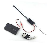 домашняя безопасность оптовых-Пульт дистанционного управления DIY модуль камеры Mini DVR 1080P pinhole camera Motion Detection Video Recording Home Security Cam 3800mah аккумулятор