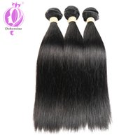 Wholesale virgin brazilian real human hair resale online - Unprocessed Brazilian Straight Virgin Real Human Hair Extensions Bundle Deals Mixed Length inch