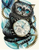 Wholesale Cute Animals Paintings - New needlework Diy diamond painting cross stitch kits full resin round diamond embroidery Mosaic Home Decor cartoon cute cat yx0296