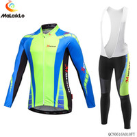 Wholesale Thermal Clothes For Men - Bora Argon 2015 Winter Cycling Jersey Long Sleeve Thermal Fleece Bike Clothes and (Bib) Pants Suit for Men Outdoor Cycling Clothing