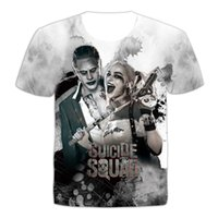 Футболка футбола Suicide Joker Haley Quinn Tops Tees 2016 Summer New Women Men 3D Футболки Кино Аниме Camisetas Одежда Плюс Размер