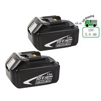 Wholesale 18v Tool Battery - Rechargeable Lithium Ion battery for Makita BL1850 LXT( Note Fit for DC18RA Charger) 5.0 Ah 18V replacement tool battery