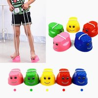 Wholesale Wholesale Exercise Products - Jumping Stilts Walk Stilt Jump Outdoor Fun Sports Toy for Kids Children