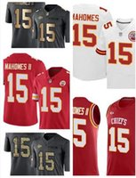 Wholesale Kansas Rugby - Kansas CityPatrick 15 Mahomes II Limited Tank Top Gold Salute To Service Rush Jabrill Elite Chiefss Jerseys size Small S - 4xl 60