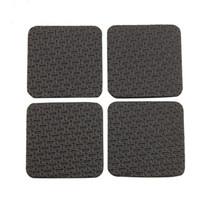 ingrosso quadrati di stuoia di schiuma-All'ingrosso-PHFU 4 pezzi quadrati nero antiscivolo schiuma pad antiscivolo pad per mobili