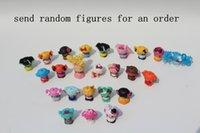 Wholesale Lalaloopsy Cartoon - Wholesale- 50pcs lot cartoon figure Lalaloopsy, Loveable cartoon dolls for girls, Mini girls' toys with cartoon animals,send at random