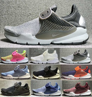 Wholesale Cheap Green Socks - 2017 New Air Presto Mens Womens Running Shoes Black Gray Sock Dart SE Boot Cheap Men Sport Shoes Outdoor Trainers Sneakers huarache 36-44