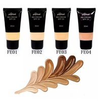 Wholesale Bb Liquid Cream - Popfeel Brand Face BB Cream CC Cream SPF 20 Liquid Concealer Foundation Makeup Waterproof Whitening Nude Primer Base Cosmetics