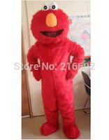 Wholesale Cheap Cosplay Fast Shipping - ostumes Accessories Cosplay Costumes Fast Free Shipping Sesame Street Blue Cookie Monster mascot costume Cheap Elmo Mascot Adult Characte...