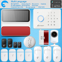 Wholesale Gsm Home Alarm System G5 - Wholesale- Etiger S3B GSM SMS Burglar Alarm System For Home Office Wireless Keypad & Strobe Siren as same as Chuango G5 ALARM SYSTEM