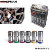 Wholesale Racing Lug Wheel Nuts - M12 X1.5 AUTHENTIC EPMAN ACORN RIM Racing Lug Wheel Nuts Screw 20PCS CAR For Toyota FOR VOLK RAYS STEY EP-NU7000-1.5