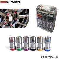 Wholesale Racing Lug Nuts - M12 X1.5 AUTHENTIC EPMAN ACORN RIM Racing Lug Wheel Nuts Screw 20PCS CAR For Toyota FOR VOLK RAYS STEY EP-NU7000-1.5