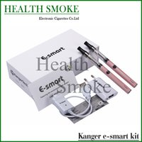 Wholesale Original Kanger E Smart - Wholesale- 2015 Original Kanger E-smart double gift kits Most Popular 1.3ml kanger e smart Starter Kit with Ego 510 Thread mini ecigs