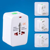 Wholesale world travel universal power adapter resale online - All in One Universal International Plug Adapter World Travel AC Power Charger Adaptor with AU US UK EU converter Plug CAB162