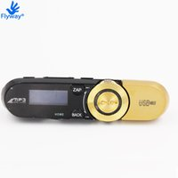Wholesale Mp3 2gb Clip - Wholesale- Brand New Real 2G 152 Sport Mp3 Music Player for Son With Clip FM Radio 2GB Fashion B152F MP3 Players with Headphones