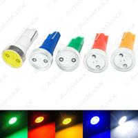Wholesale Led T5 1w - FEELDO Super White T5 Power 1W 1LED Car LED Light Wedge Dashboard Light License Plate Light SKU#:3346