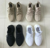 Wholesale Dark Earth - DHL Free Mesh V3 2017 black v3 350 boost with cream white,earth tan sneaker boost 350 V2 size 36-46 Kanye West Running Shoes