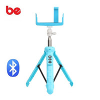 Купить Штатив-Ручной штатив Bluetooth Selfie Stick Monopod Selfie Stick Bluetooth Remote Shutter для iPhone 6 7 Samsung Xiaomi HUAWEI