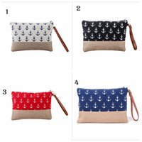 Wholesale Wholesale Designer Hand Bags - Hand Bags Anchor High Quality Women Famous Brand Designer Canvas Small Handbags Women Messenger Bags 4 Colors YYA612