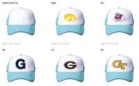 Wholesale Wholesale College Basketball Caps - Wholesale Teams NCAA Snapbacks Hats American College Basketball Mesh Cap Mens Adjustable Hats Embroidered Logos Mix Order FreeShipping JY-04